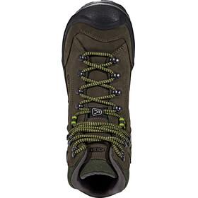 Keen Galleo Mid WP Shoes Men Black/Greenery